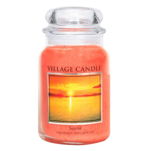 Svíčka ve skleněné dóze Village Candle Východ slunce, 737 g