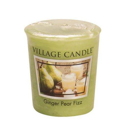 Vonná svíčka Village Candle Hruškový fizz se zázvorem, 57 g