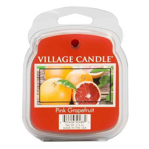 Vonný vosk Village Candle Růžový grapefruit, 62 g