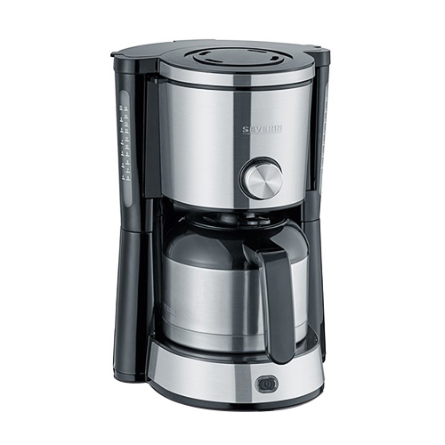 """Severin Coffee Maker with stainless steel vacuum jug """"TYPE SWITCH"""", KA 4845"""