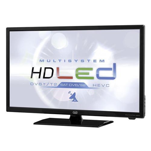 "Trevi LTV 2401 SAT 24"" HEVC MULTISYSTEM LED TV BLACK LTV 2401SAT BLACK"