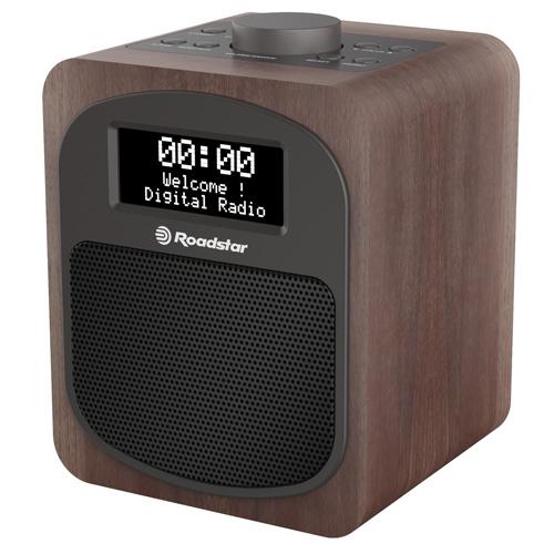 Roadstar DAB+ / DAB / FM HOME RADIO HRA-600D+/WD