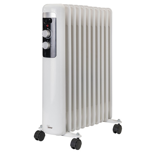 Olejový radiátor Bimar HO411, 11 žeber, 2500 W
