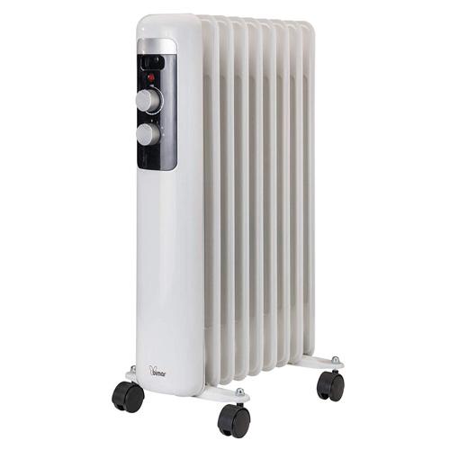 Olejový radiátor Bimar HO409, 9 žeber, 2000 W