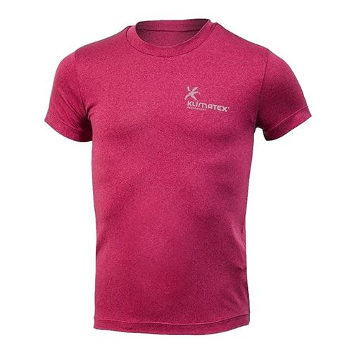 Dětské triko Klimatex MOOS | Růžová | 122