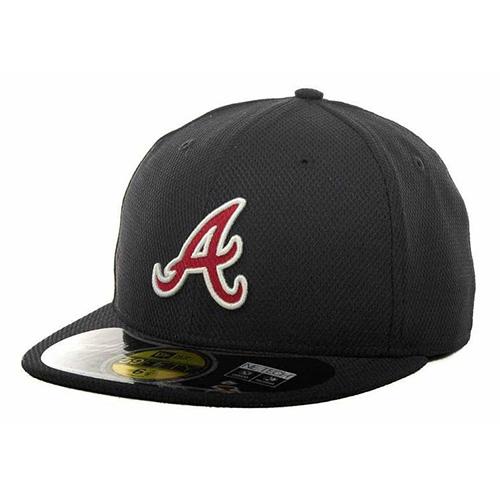 Kšiltovka New Era Atlanta Braves 59FIFTY | Černá | 7 1/2 (59,6 cm)