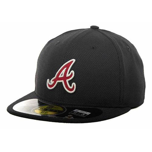Kšiltovka New Era Atlanta Braves 59FIFTY | Černá | 7 5/8 (60,6 cm)
