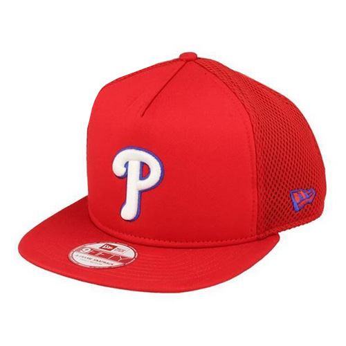 Kšiltovka New Era Philadelphia Phillies 9FIFTY | Červená | S/M