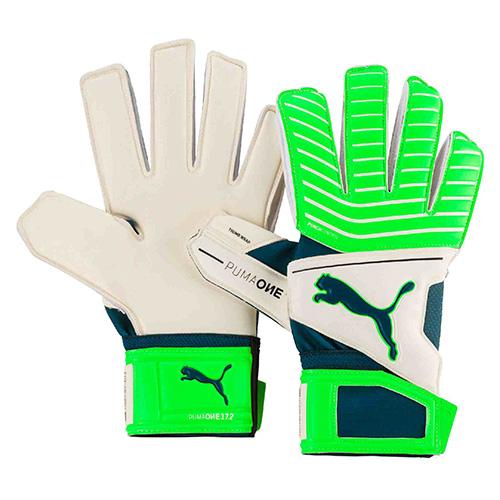 Brankářské rukavice Puma ONE Grip 17.2 RC | Zelená | 8,5