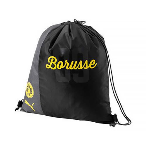Vak Puma Borussia Dortmund Fanwear | Černá | Objem 18 l