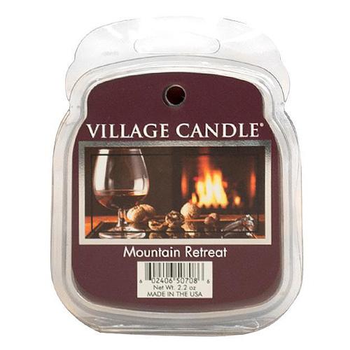 Vonný vosk Village Candle Víkend na horách, 62 g