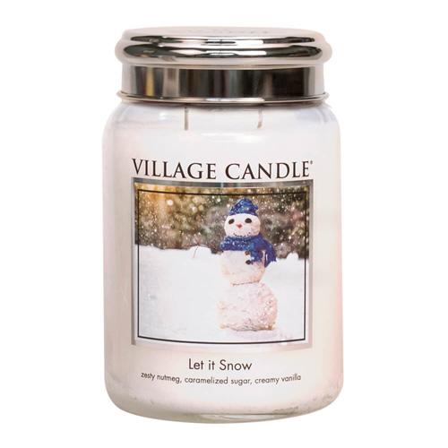 Svíčka ve skleněné dóze Village Candle Sněhová Nadílka, 737 g
