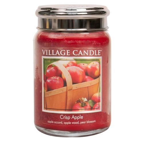 Svíčka ve skleněné dóze Village Candle Svěží jablko, 737 g