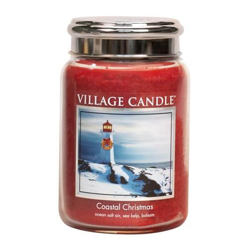 Svíčka ve skleněné dóze Village Candle Vánoce v přístavu, 737 g