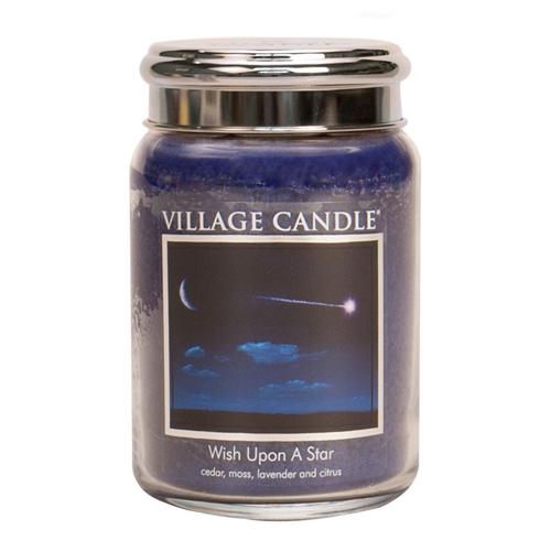 Svíčka ve skleněné dóze Village Candle Padající hvězda, 737 g
