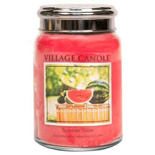 Svíčka ve skleněné dóze Village Candle Letní pohoda, 737 g