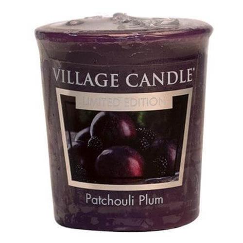 Vonná svíčka Village Candle Švestka a pačuli, 57 g