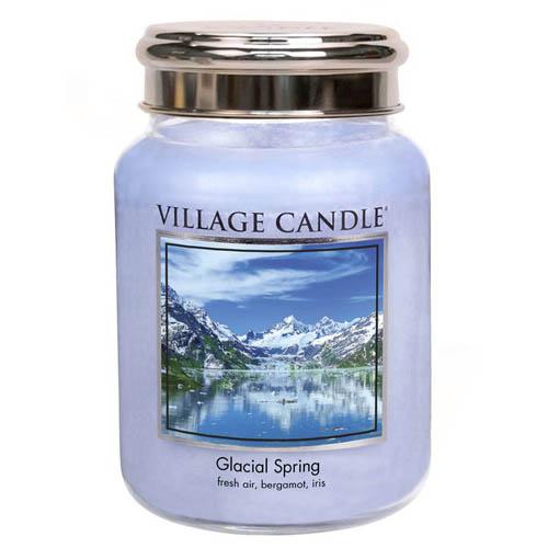 Svíčka ve skleněné dóze Village Candle Ledovcový vánek, 737 g