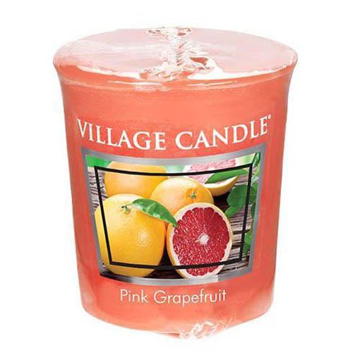 Vonná svíčka Village Candle Růžový grapefruit, 57 g