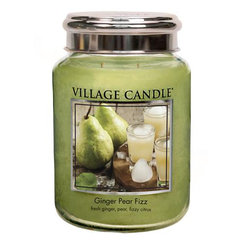 Svíčka ve skleněné dóze Village Candle Hruškový fizz se zázvorem, 737 g