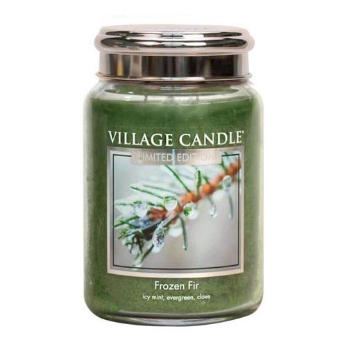Svíčka ve skleněné dóze Village Candle Jinovatka, 737 g