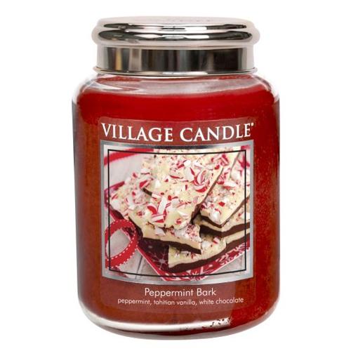 Svíčka ve skleněné dóze Village Candle Mátové potěšení, 737 g