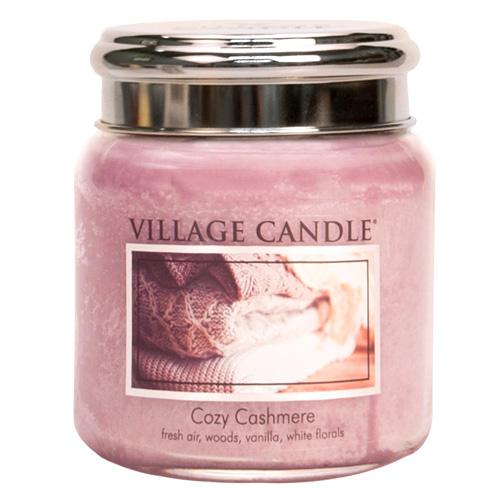 Svíčka ve skleněné dóze Village Candle Kašmírové pohlazení, 454 g