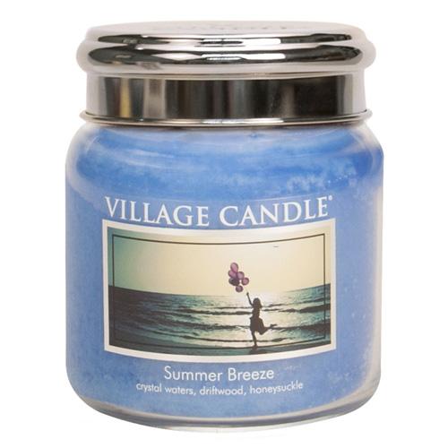 Svíčka ve skleněné dóze Village Candle Letní vánek, 454 g