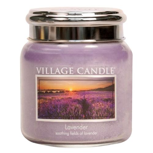 Svíčka ve skleněné dóze Village Candle Levandule, 454 g