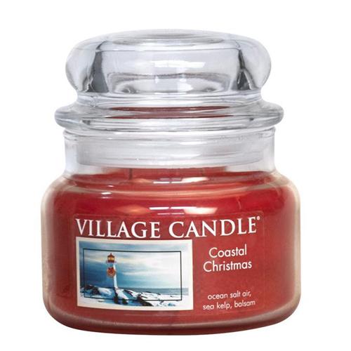 Svíčka ve skleněné dóze Village Candle Vánoce v přístavu, 312 g