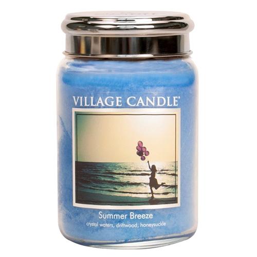 Svíčka ve skleněné dóze Village Candle Letní vánek, 737 g