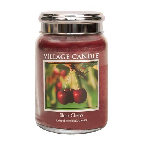 Svíčka ve skleněné dóze Village Candle Černá třešeň, 737 g