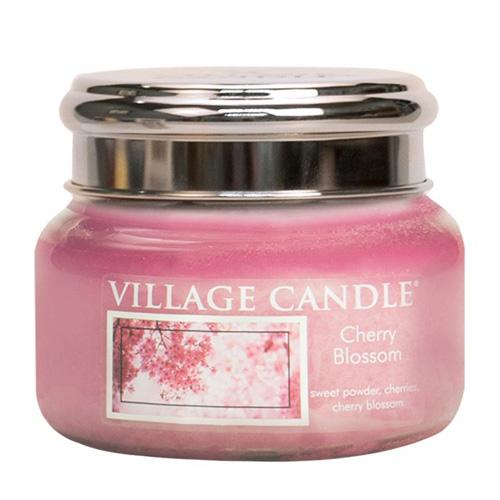Svíčka ve skleněné dóze Village Candle Třešňový květ, 312 g