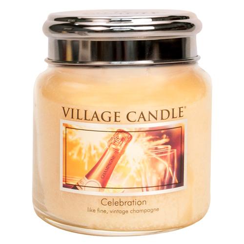 Svíčka ve skleněné dóze Village Candle Oslava, 454 g
