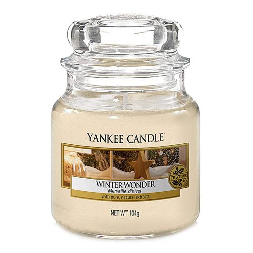 Svíčka ve skleněné dóze Yankee Candle Zimní zázrak, 104 g