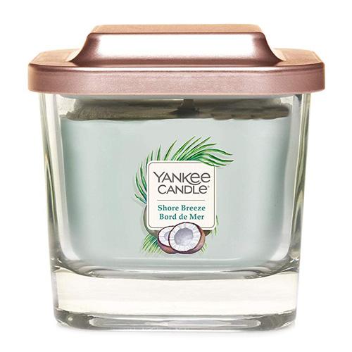 Svíčka ve skleněné váze Yankee Candle Mořský vánek, 96 g