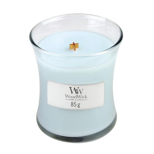 Svíčka oválná váza WoodWick Čistota a pohodlí, 85 g