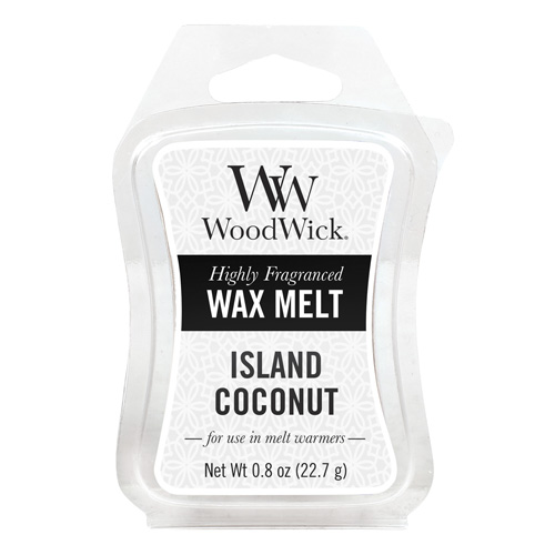 Vonný vosk WoodWick Kokosový ostrov, 22.7 g