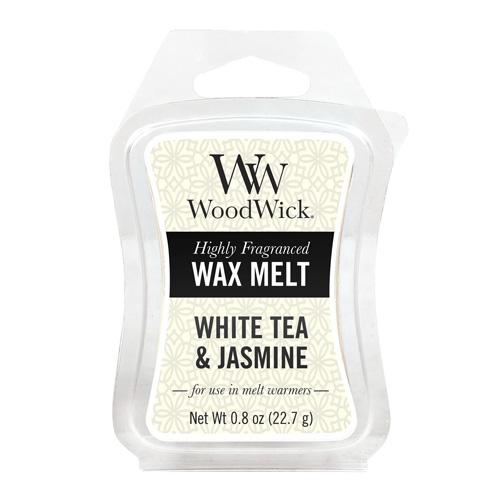 Vonný vosk WoodWick Bílý čaj a jasmín, 22.7 g