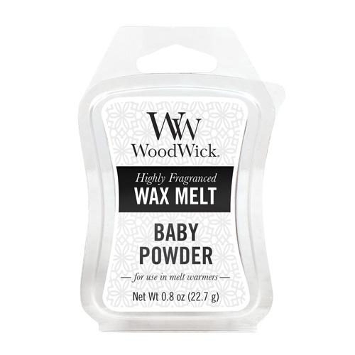 Vonný vosk WoodWick Dětský pudr, 22.7 g