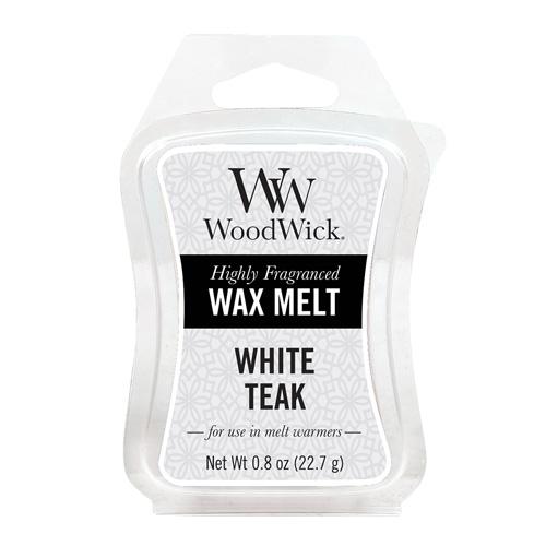 Vonný vosk WoodWick Bílý teak, 22.7 g