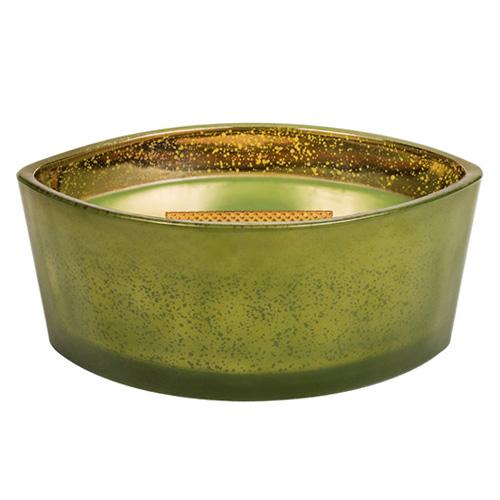 Svíčka dekorativní váza WoodWick Vůně jehličí, 453.6 g