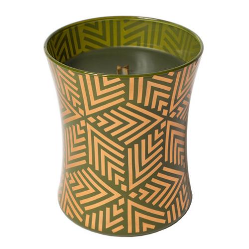 Svíčka oválná váza WoodWick Jedle, 275 g