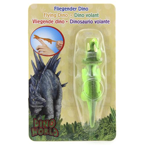 Vystřelovací dinosaurus Dino World ASST Triceratops, Zelený