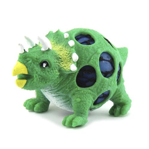 Mačkací figurka Dino World ASST Triceratops, zelený
