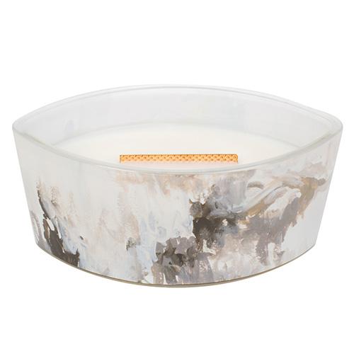 Svíčka dekorativní váza WoodWick Medový tabák, 453.6 g