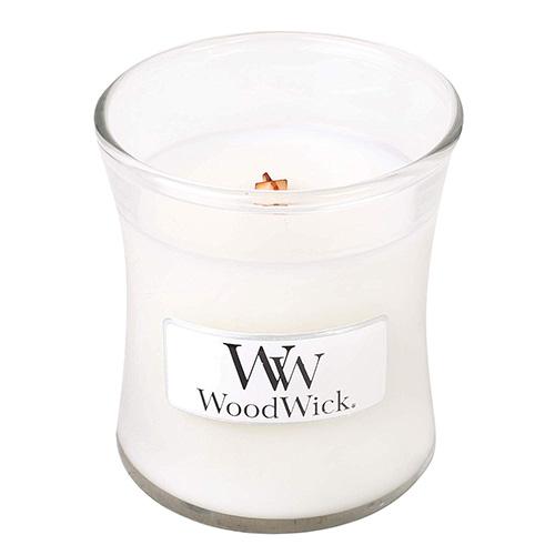 Svíčka oválná váza WoodWick Magnólie, 85 g