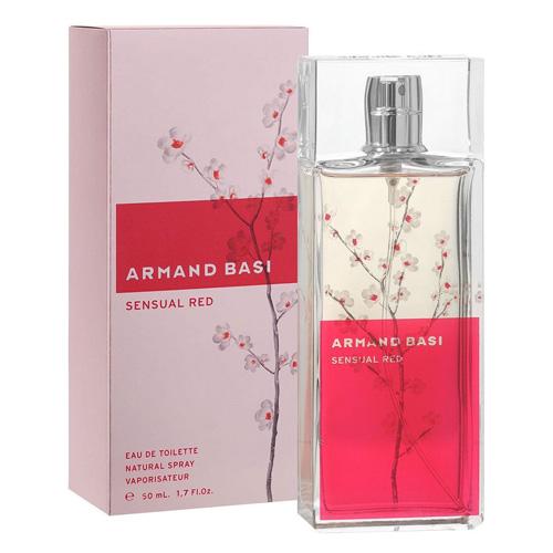Armand Basi Sensual Red EDT 50 ml W Dámská toaletní voda | 50.0000 ml