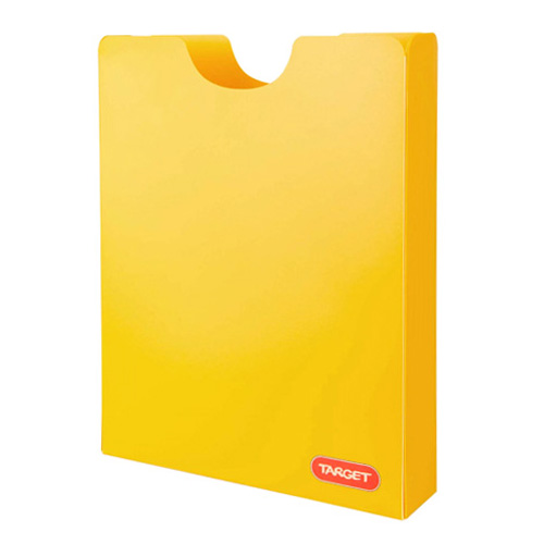 Desky na sešity Target A4, žluté