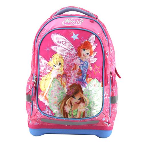 Školní batoh Target Winx Butterflix, růžový